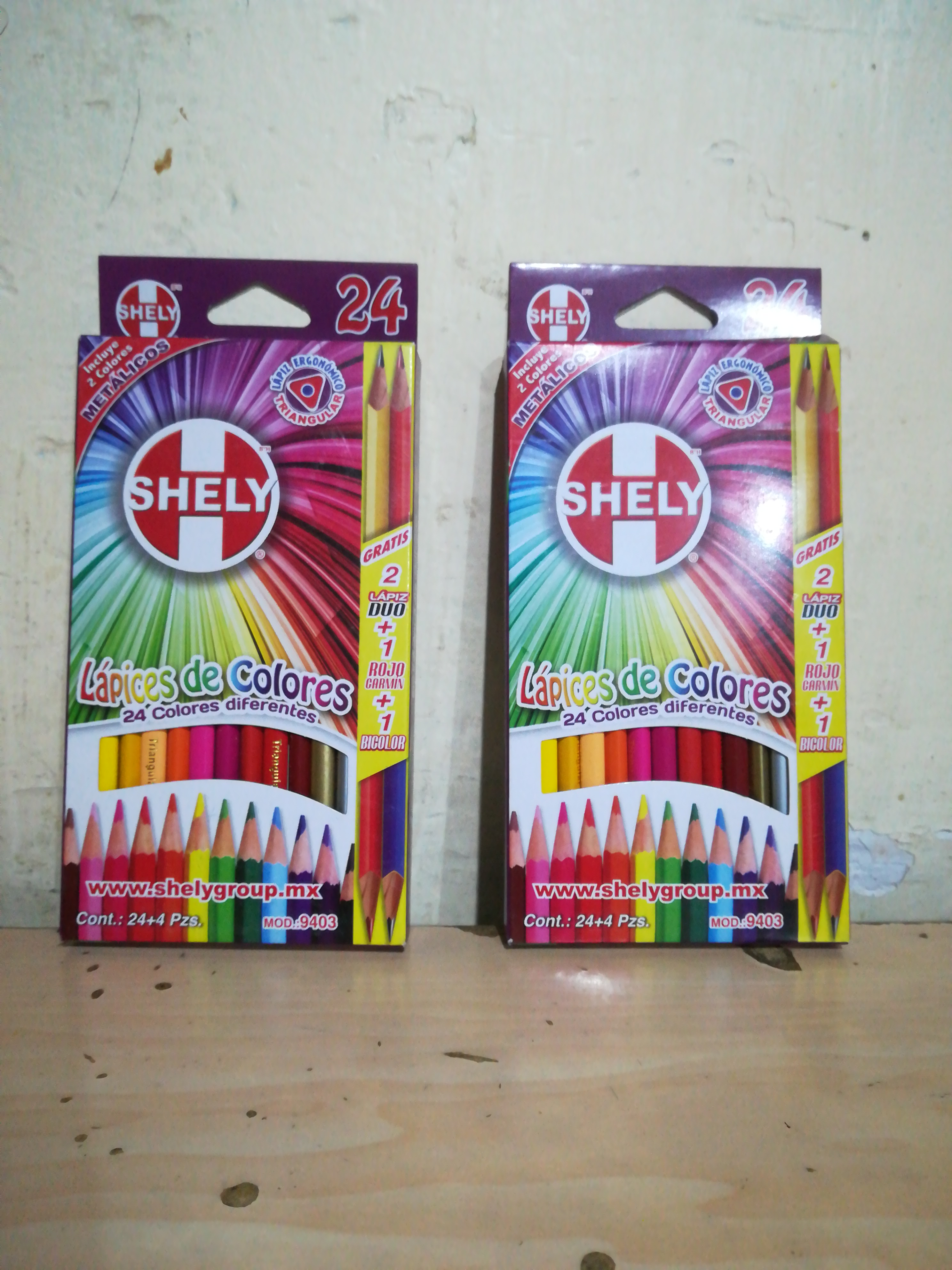 24 COLOR SHELY 40009