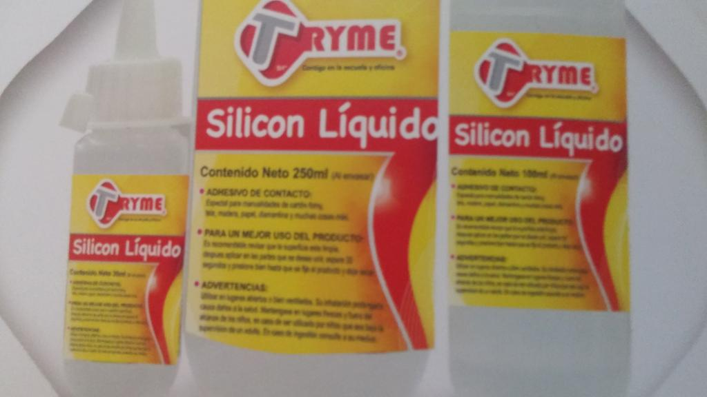 SILICON LIQUIDO MEDIANO 100 ML TRYME