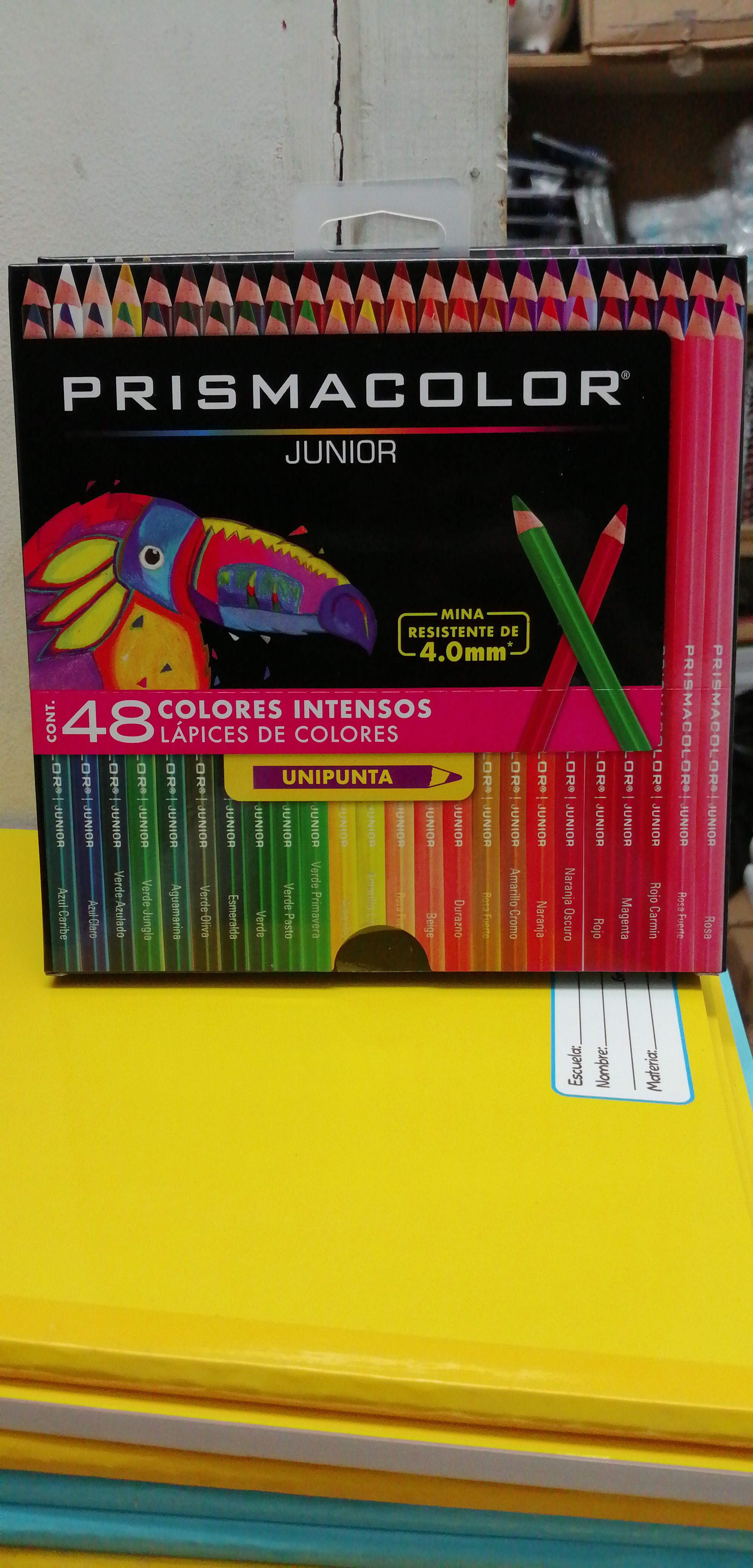 48PRISMACOLOR JUNIOR 48 COLORES  11015