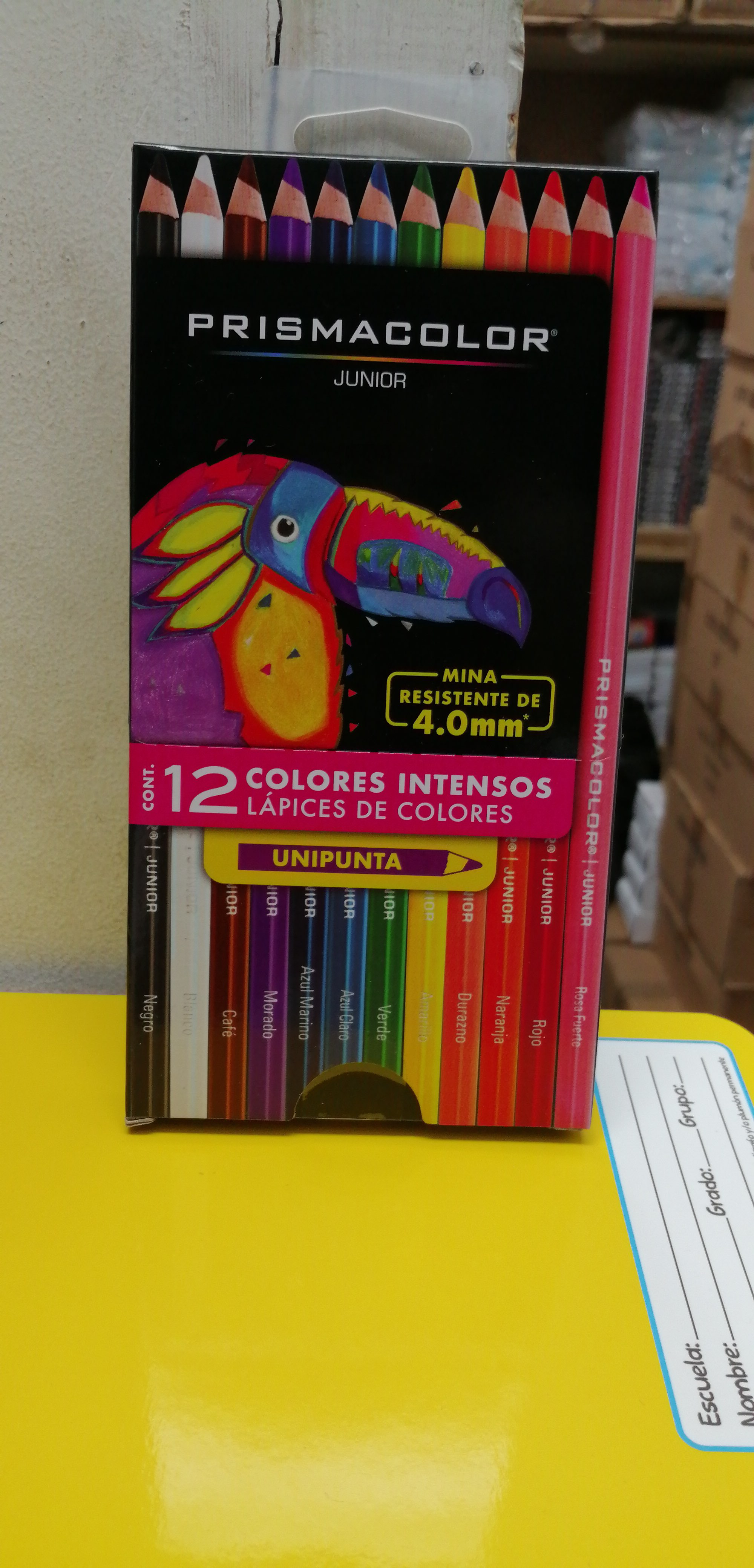 12PRISMACOLOR JUNIOR 12 COLORES  11012